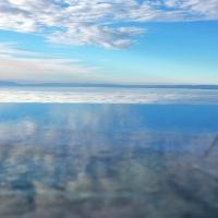Nuages sur le lac Léman